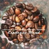 เมล็ดกาแฟคั่ว moka blend โมก้า เบลนด์ 1KG (Medium-Dark Roast) คั่วกลาง-เข้ม สำหรับ MOKA POT โดยเฉพาะ