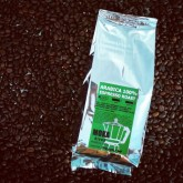 เมล็ดกาแฟคั่ว อาราบิก้า 100 คั่วเข้ม ARABICA 1kg 1กิโล (Espresso Roast) สำหรับ MOKA POT drip filter