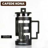 Cafede Kona เครื่อง ชง กาแฟ กาแฟแบบ French Press ขนาด 300ml เครื่องชงกาแฟสด Teapot or Tea แก้วชงกาแฟ