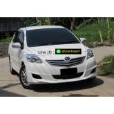 ชุดแต่งวีออส Toyota Vios Sportivor V1 2007 2008 2009 2010 2011 2012 สเกิร์ตรอบคัน