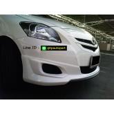 ชุดแต่งวีออส Toyota Vios GT-Street 2007 2008 2009 2010 2011 2012 เกิร์ตรอบคัน สปอยเลอร์