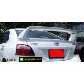 สปอยเลอร์ Toyota Vios  วีออส 2007 2008 2009 2010 2011 2012 RR