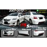 ชุดแต่งวีออส Toyota Vios 2007 2008 2009 2010 2011 2012 PSD สเกิร์ตรอบคัน