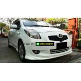 ชุดแต่งยาริส Toyota Yaris E-Limited ยาริส 2006 2007 2008 สเกิร์ตรอบคัน