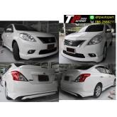 ชุดแต่งสเกิร์ตรอบคัน Nissan Almera K-Style นิสสันอัลเมร่า 2012 2013