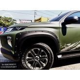 ชุดแต่งคิ้วล้อแบบมีหมุด Mitsubishi Triton 4 ประตู Adventure 2018 2019