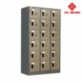 ตู้ล็อคเกอร์ 18 ประตู (มอก) , LK-018
