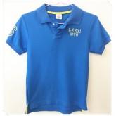 เสื้อโปโล ยี่ห้อ MonsterGang สีน้ำเงิน size 8