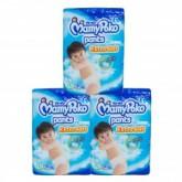 MamyPoko Pants Extra Soft x3 แพ็ค ผ้าอ้อมสำหรับเด็ก (เด็กหญิง/เด็กชาย) ไซต์ S,M,L,XL,XXL