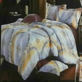 ผ้านวม พร้อมผ้าปู ขนาด 6ฟุต 6ชิ้น ราคา 1100/ชุด เกรดA