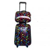 กระเป๋าเดินทาง Set คู่ แม่ลูก 18 นิ้ว ยี่ห้อ ROMAR POLO (ลิขสิทธิ์แท้) ราคา พิเศษ! 990 บาท