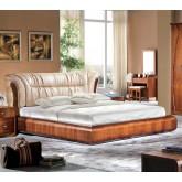 เตียงนอน wangswit ขนาด 6 ฟุต รุ่น E-122 พร้อม ตู้ข้างเตียงเข้าชุด
