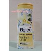 พร้อมส่ง Balea : Vanille  Cocos Dusch  Creme  300 ml.