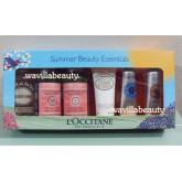 พร้อมส่ง L\'Occitane : Summer Beauty Essentials Kit