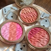 Bisous Bisous Allure of Baccarat Trio Blusher 10 g.(มีให้เลือก3สี)