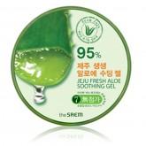 The Saem Jeju Fresh Aloe Soothing Gel เจลว่านหางจระเข้ออแกนิก 99 ขนาด 300 ml