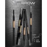 Cosluxe Slimbrow Pencil โทนสีใหม่ 2 เฉดสี เขียนคิ้วเนื้อฝุ่นอัดแข็ง ช่วยในการแรเงาคิ้ว