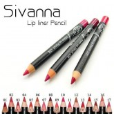 Sivanna Make Up Lip Liner Pencil 0.9g.