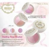 Mille Dazzling Rose Blusher ปริมาณ10กรัม