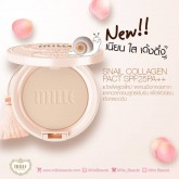Mille Snail Collagen Pact SPF25 PA++