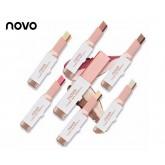 ขายดีที่สุด NOVO Color Eye Shadow Stick Double Color อายแชโดว์ทูโทน มี 2  ขายปลีก ส่ง