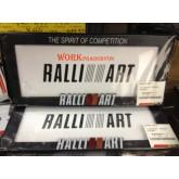 กรอบป้ายทะเบียน RALLI ART