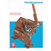กรรไกรตัดเหล็กแบบมือโยก Peddinghaus 5RP/8