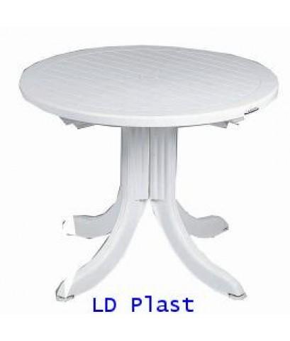 โต๊ะกลมสวยรวยทรัพย์ T1 สีขาว