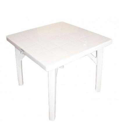 โต๊ะเหลี่ยม T8 สีขาว