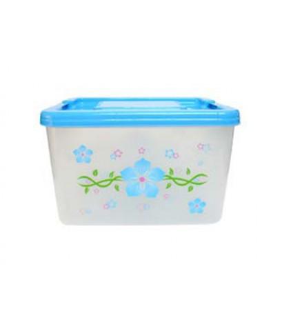 กล่องหูล็อค PN.3025 ฝาสีฟ้า