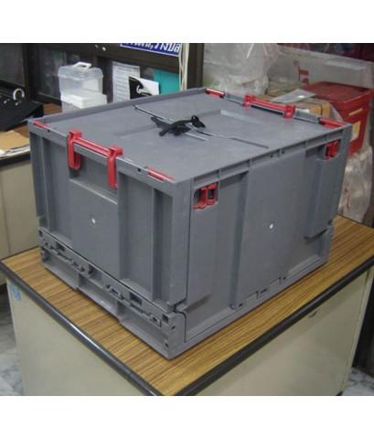 ลังพับได้ R-6030 สีเทา (ยกเลิกผลิตแล้ว)