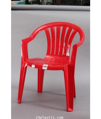 เก้าอี้ท้าวแขน AC- 9301 สีแดง