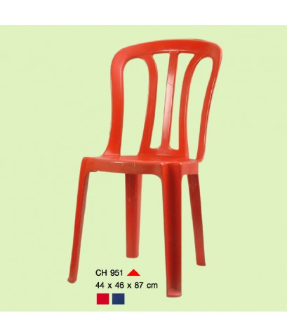 เก้าอี้พิงหลัง CH-951 สีน้ำเงิน A