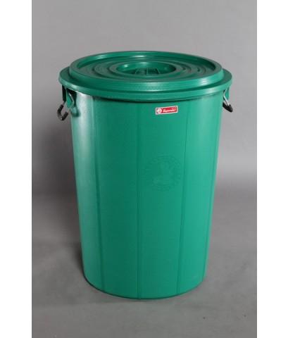 ถังน้ำ+ฝา 47 gl สีเขียว