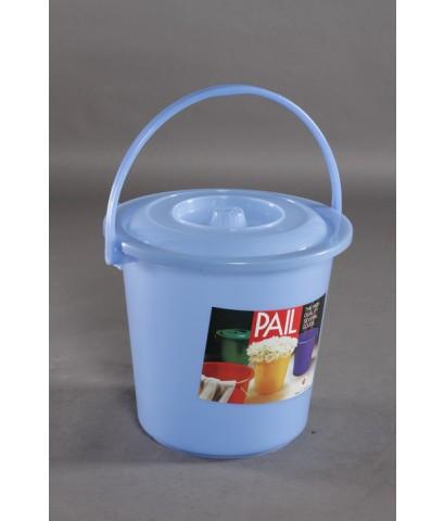 ถังน้ำ 17 Lt 4.5 gl สีฟ้าใส
