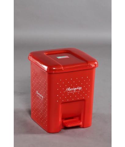 ถังขยะเหยียบ 9 Lt 1000 สีแดง