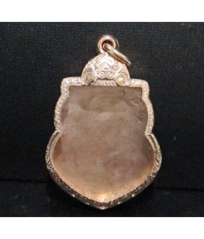 ตลับนาก เหรียญเสมา ยกซุ้ม นาก40 แบบงานโบราณ สวยน่าสะสม นน. 14.58 g