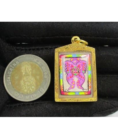 สาลิกา เทพภมรจำแลง เลี่ยมทองเก่า นน. 9.65 g