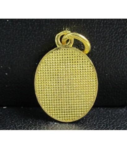 จี้ ไอ้ไข่ ลงยา ทอง96.5 สวยน่าสะสม นน. 1.90 g