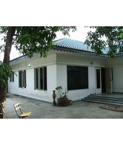 (บ้านเช่าไปแล้ว) บ้านเช่าดอนเมือง / บ้านเช่าราคาถูก บ้านเดี่ยวชั้นเดียว หลังหัวมุมให้เช่า