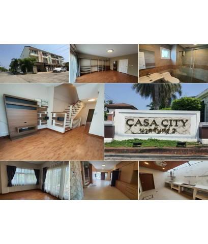 (บ้านเช่าไปแล้ว)บ้านเช่านวลจันทร์/บ้านเช่าโครงการหรู Casavile นวลจันทร์-รามอินทรา อยู่อาศัย-ทำออฟฟิศ