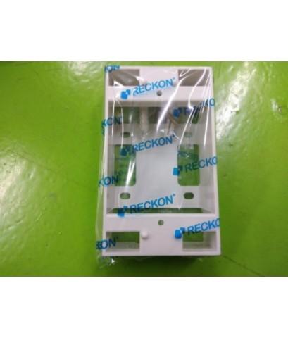 "RECKON BOX รุ่นใหม่ 2X4"" MODEL RKB-408A ราคา 8 บาท"