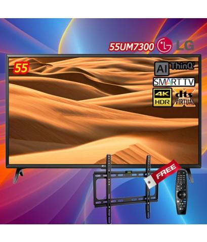 55 LG Smart TV UHD  4K รุ่น 55UM7300PTA AI DTS.X 55UM7300 BB