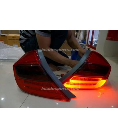 โคมไฟท้าย Civic LED Euro style