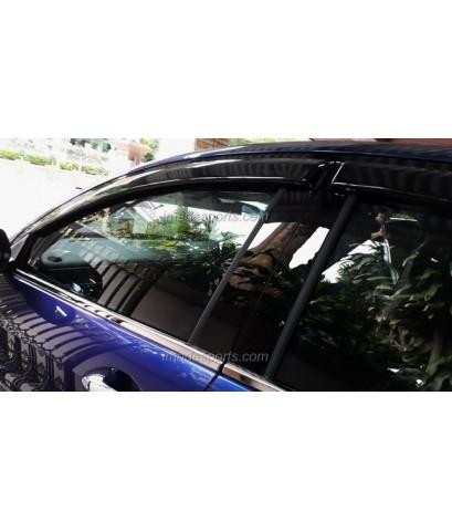 เสาประตู ฺCrystal Black Mirror FACE HRV 8 ชิ้น