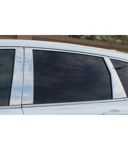 เสาประตู Gloss Silver CRV G5
