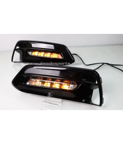 ไฟตัดหมอก LED+ไฟเลี้ยววิ่ง Accord G10