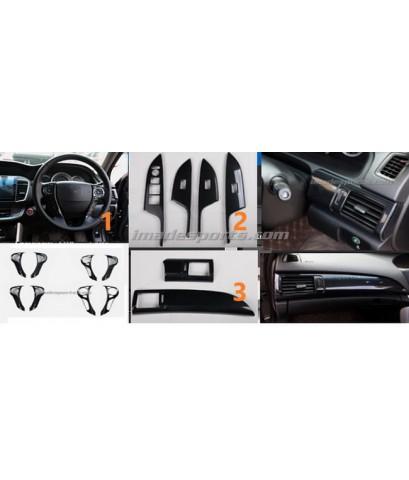ชุดตกแต่ง Black Kevlar ภายใน Accord G9