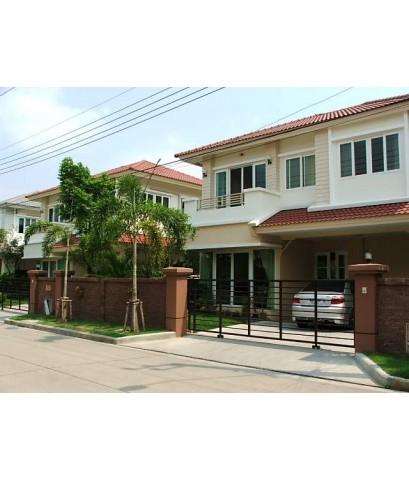 (มีผู้เช่าแล้ว) CASA Ville บ้านใหม่ ให้เช่า!  พระราม2 โครงการหรู Quality House