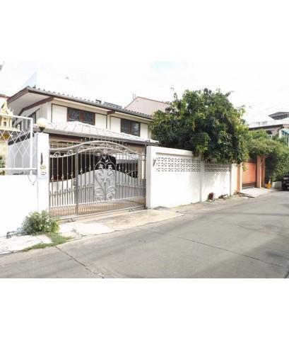 (มีผู้เช่าแล้ว)บ้านเช่าราคาถูก บ้านเดี่ยวสภาพดี จรัญ57 ใกล้เซ็นทรัลปิ่นเกล้า